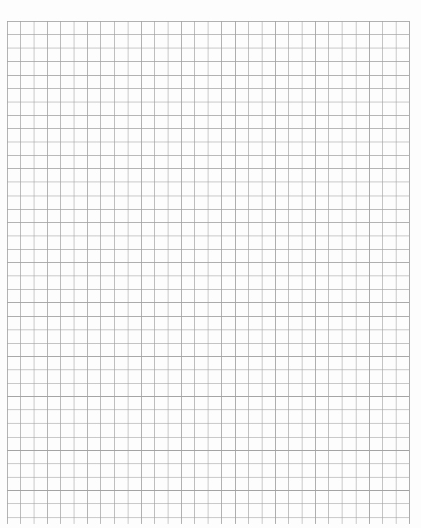 Graph Paper Template for Word Inspirational 4 Free Graph Paper Templates Excel Pdf formats