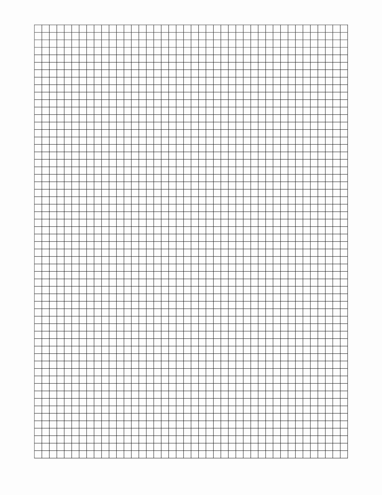 Graph Paper Template for Word Luxury Graph Paper Template