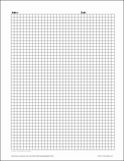 Graph Paper Template for Word New Full Page Graph Paper Template
