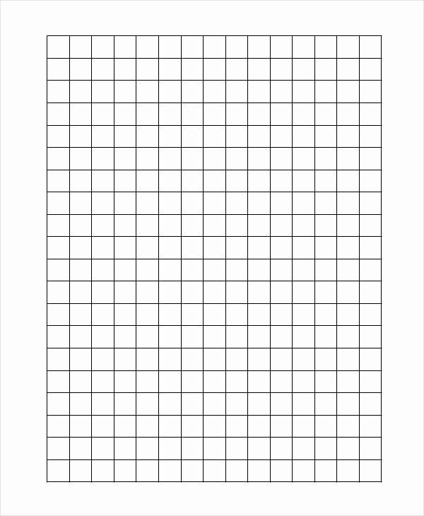 Graph Paper Template for Word New Grid Paper Template