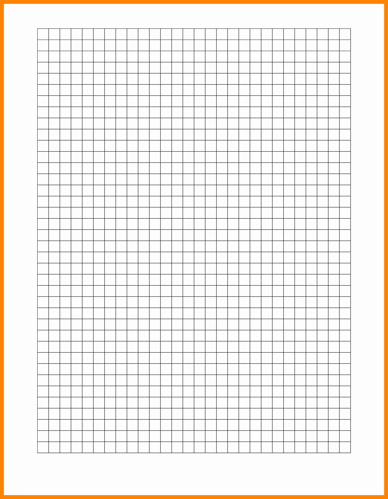 Graph Paper Template for Word Unique 10 Graph Paper Word Template