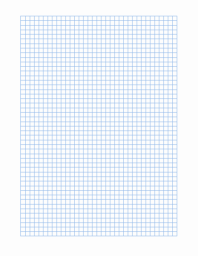 Graph Paper Template for Word Unique Graph Paper Template