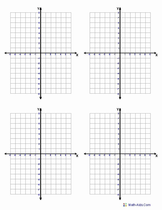 Graph Paper Template with Numbers Beautiful Graph Paper