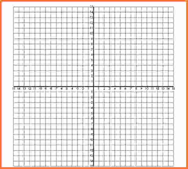 Graph Paper Template with Numbers Beautiful Printable Coordinate Graph Paper Pdf Printable 360 Degree