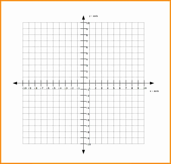 Graph Paper Template with Numbers Best Of Free Graph Paper with Numbers – Rightarrow Template Database