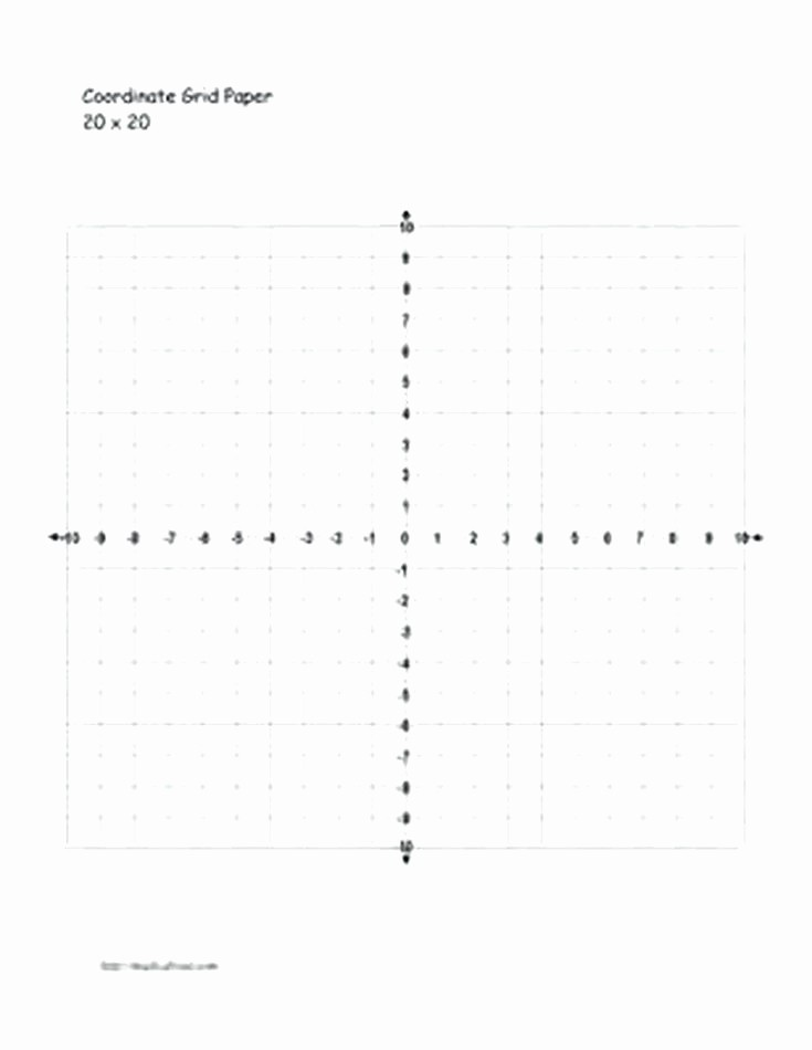 Graph Paper Template with Numbers Elegant Numbered Graph Paper Template – Azserverfo