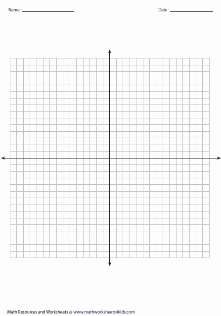 Graph Paper Template with Numbers Fresh Blank Graph with Numbers Up to 20