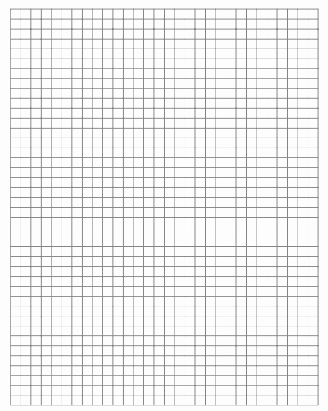 Graph Paper Template with Numbers Inspirational 21 Free Graph Paper Template Word Excel formats