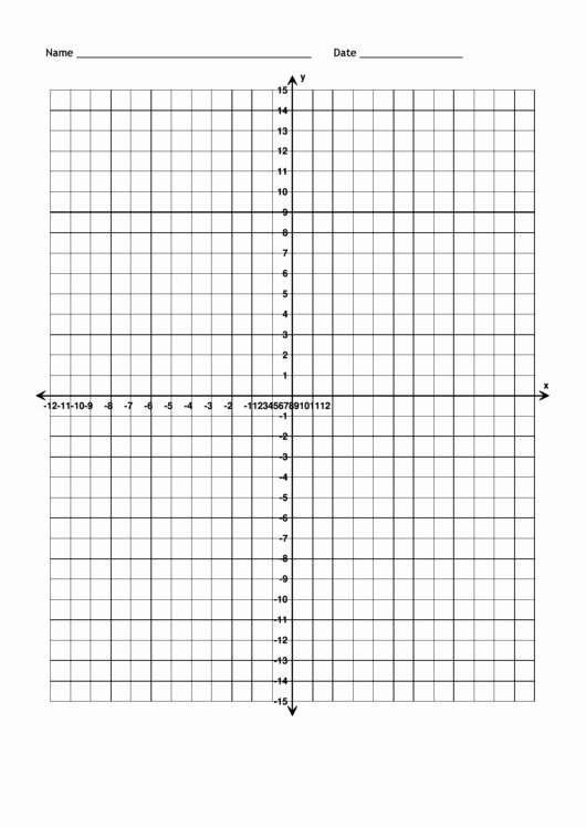 Graph Paper Template with Numbers Inspirational top 10 Printable Graph Paper with Axis Templates Free to