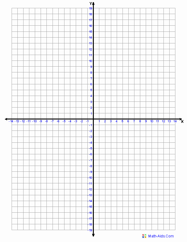 Graph Paper Template with Numbers Luxury Graph Paper