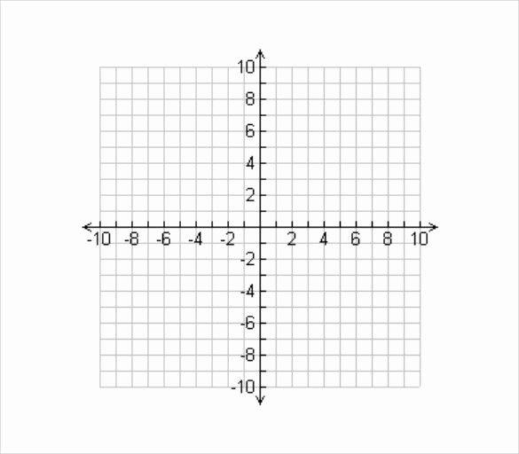 Graph Paper Template with Numbers New 8 Sample Numbered Graph Paper Templates Download for Free