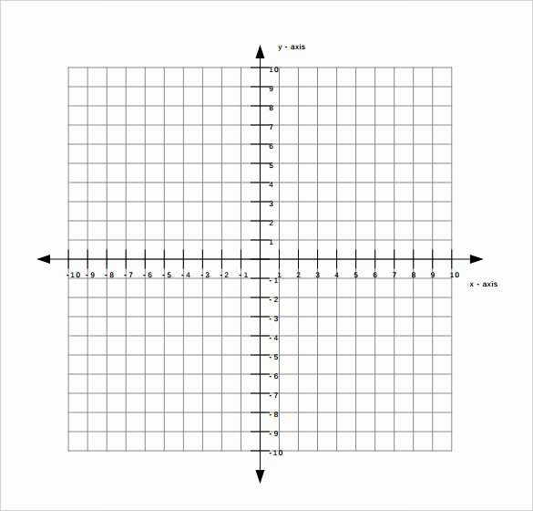 Graph Paper Template with Numbers New 9 Free Graph Paper Templates Pdf