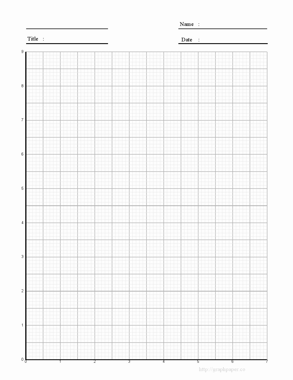 Graph Paper Template with Numbers Unique Best S Of Printable Graph Paper 8 5 X 11 Printable