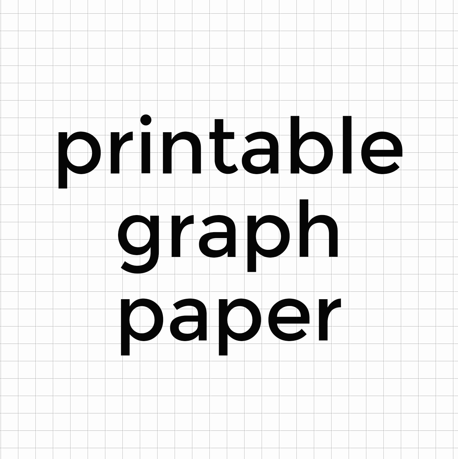 Graph Paper to Print Out Awesome Printable Graph Paper • Better when Built