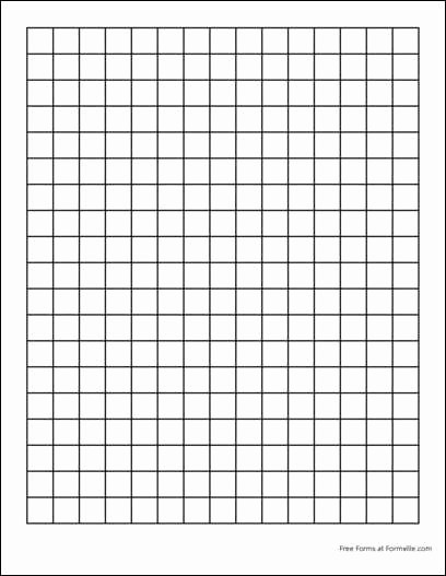 Graph Paper to Print Out Fresh Printable Graph Paper 1 Inch Squares Printable 360 Degree