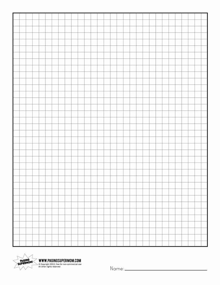Graph Paper to Print Out Lovely Free Printable Graph Paper for Preschool Printable 360