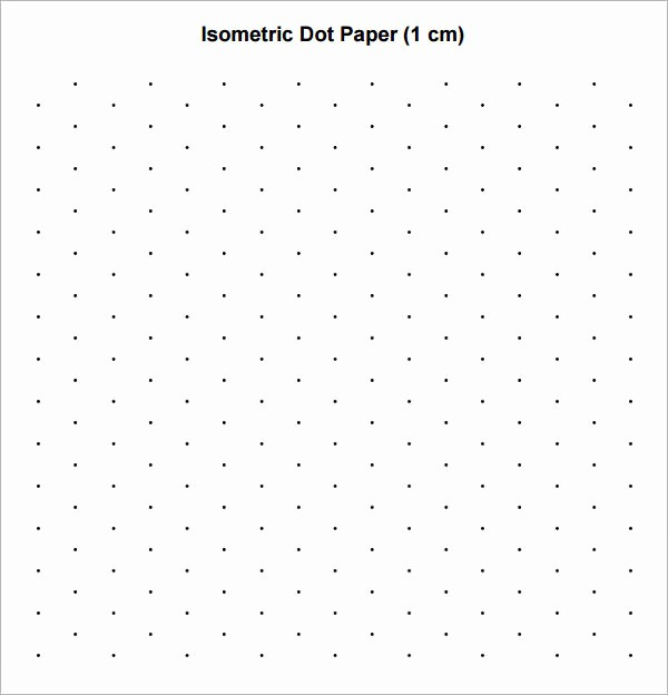 Graph Paper to Print Out New 8 Sample isometric Dot Paper Templates – Pdf