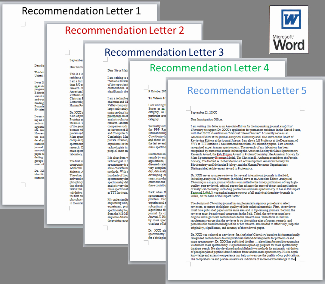 Green Card Reference Letter Example Inspirational Eb2 Niw Do It Yourself Kit