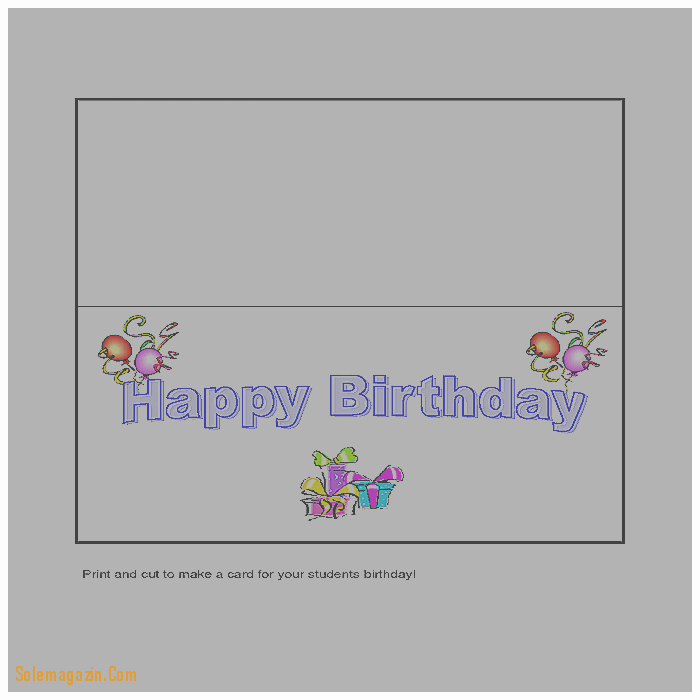 Greeting Cards Templates for Word Inspirational Blank Birthday Card Template Templates Station