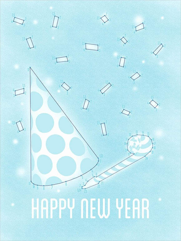 Greeting Cards Templates Free Downloads Awesome 21 New Year Greeting Card Templates to Download