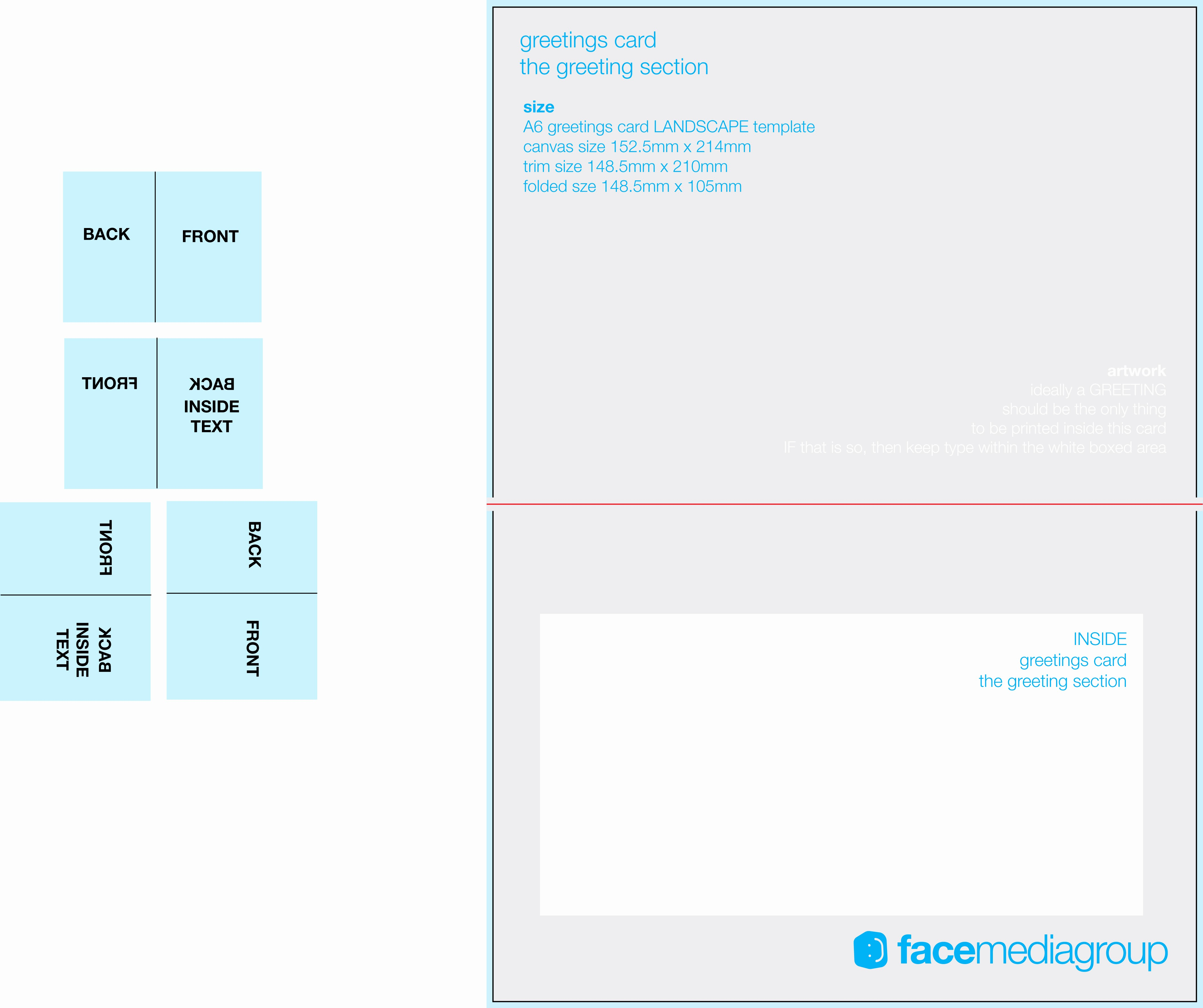Greeting Cards Templates Free Downloads Awesome Free Blank Greetings Card Artwork Templates for Download