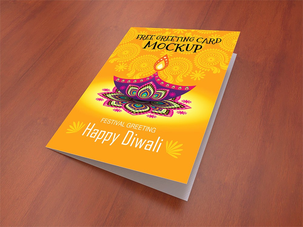 Greeting Cards Templates Free Downloads Awesome Greeting Card Mockup Free Psd Template Download Psd