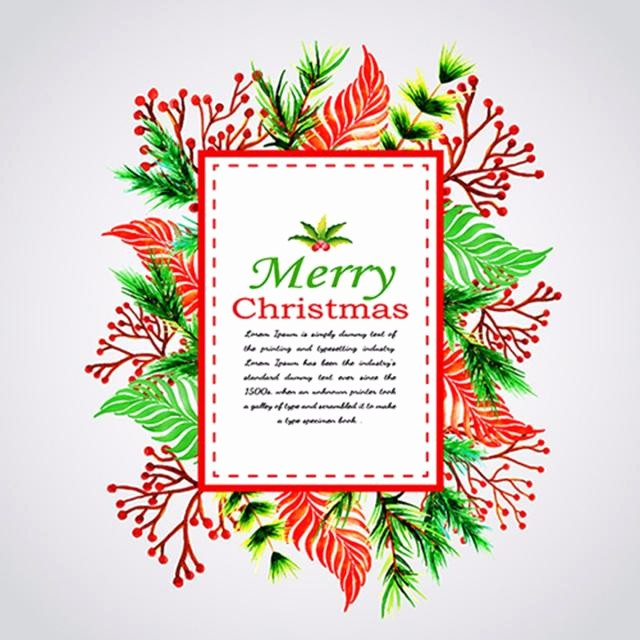 Greeting Cards Templates Free Downloads Lovely Christmas Greeting Cards Template for Free Download On Tree