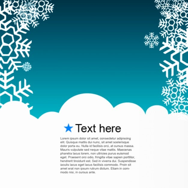 Greeting Cards Templates Free Downloads Unique Winter Template Greeting Card Vector