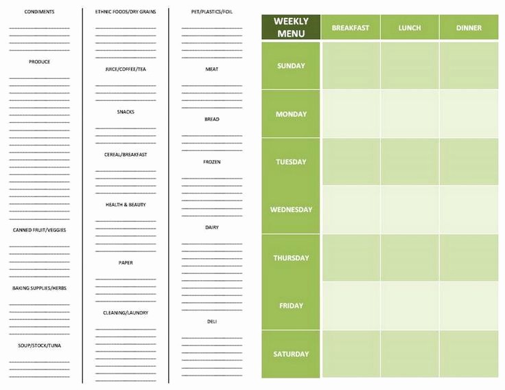 Grocery List by Aisle Template Elegant 8 Best Of Printable Grocery List by Aisle Free