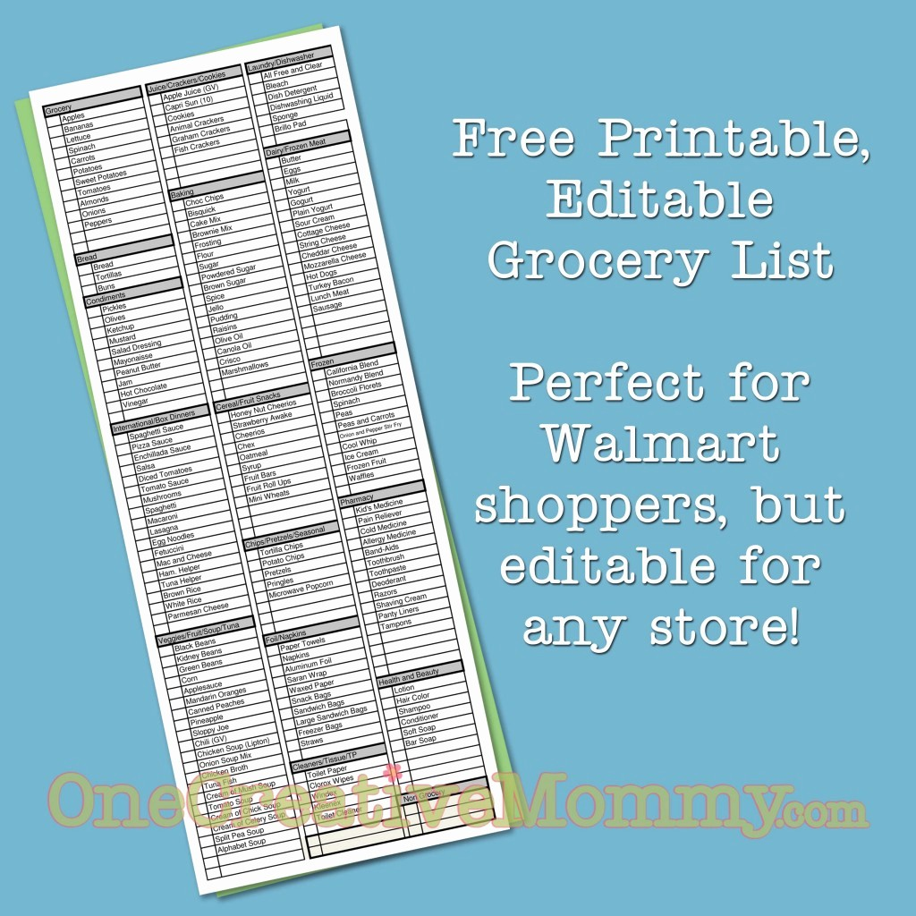 Grocery List by Aisle Template Elegant My 12 Favorite Projects From My First 200 Posts