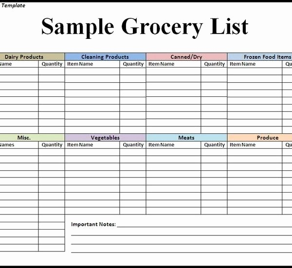 Grocery List with Prices Template Awesome the 25 Best Grocery List Templates Ideas Pinterest