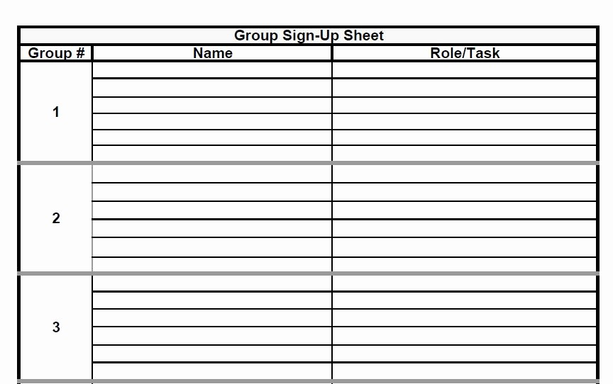 Group Sign In Sheet Template Beautiful the Admin Bitch Download Group Project Sign Up Sheet
