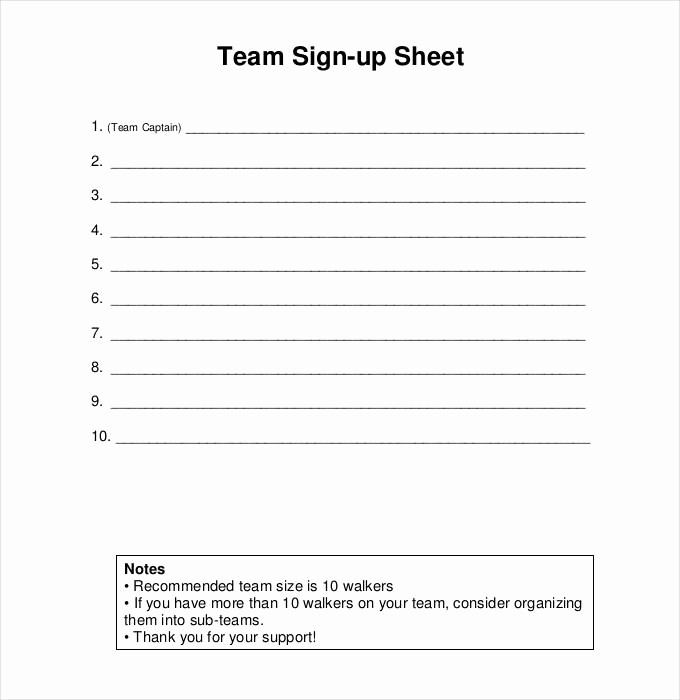 Group Sign In Sheet Template Elegant Sign Up Sheets 58 Free Word Excel Pdf Documents