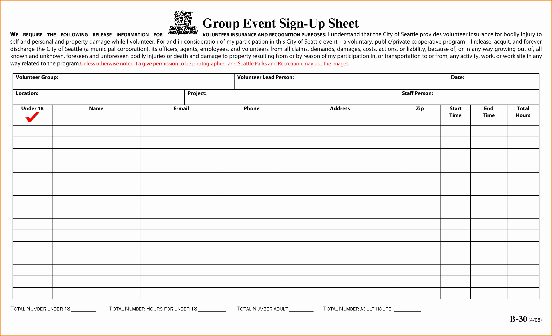 Group Sign In Sheet Template Luxury 5 Sample Sign Up Sheet