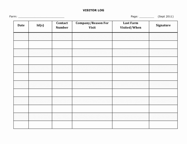 Guest Sign In Sheet Templates Best Of Guest Register Page Fresh 30 Sample Lifetime Fitness