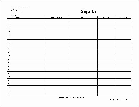 post visitor sign in sheet pdf