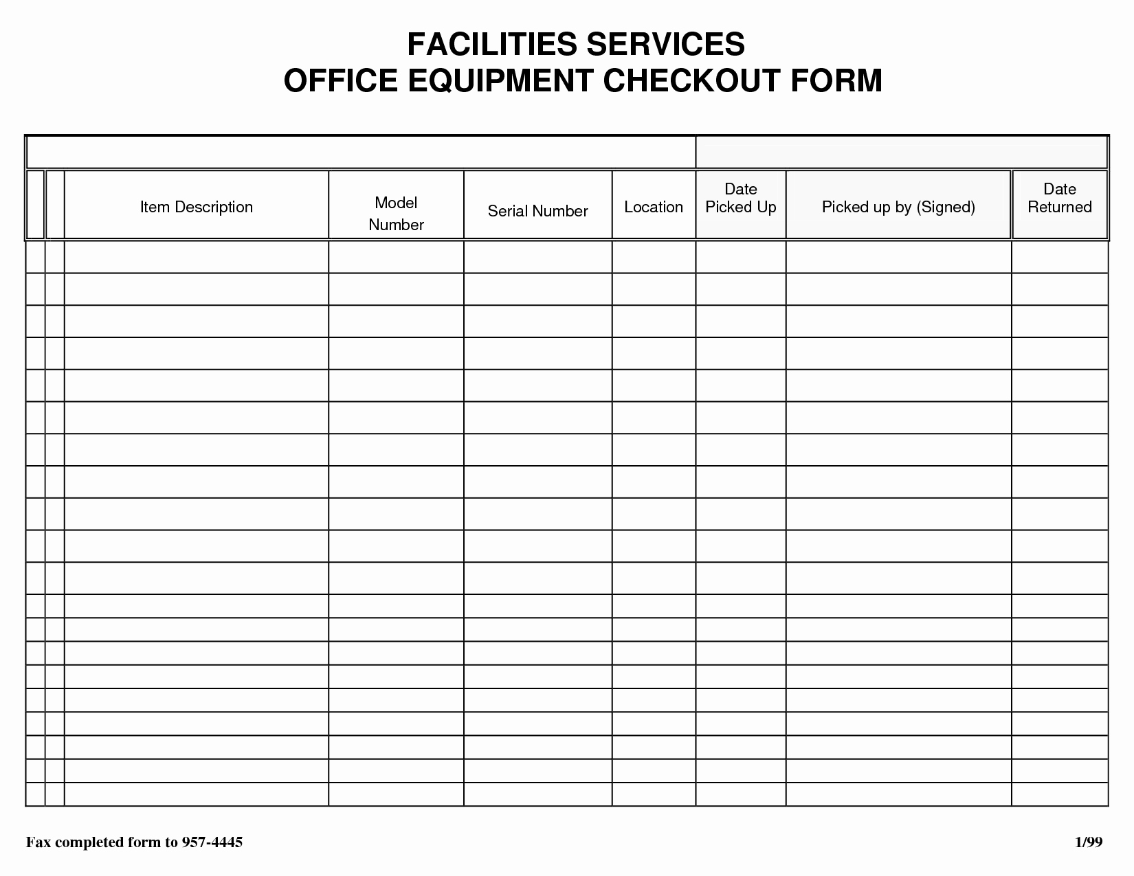 Gym Sign In Sheet Template Awesome Check Out List Template 3 – Guatemalago