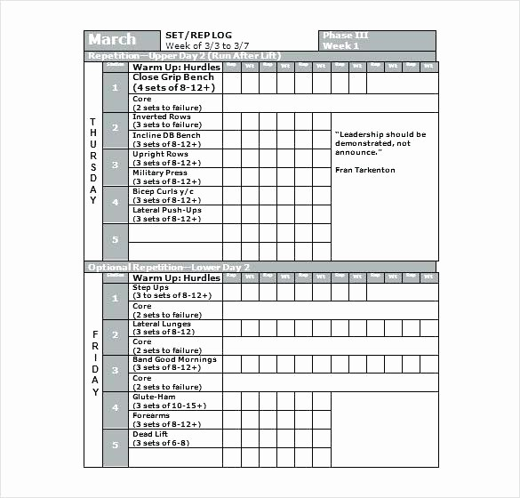 Gym Sign In Sheet Template Beautiful Training Sheet Template Gym Workout Sheet Template
