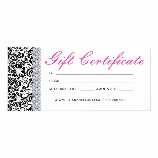 Hair Salon Gift Certificate Templates Beautiful 10 Best Of Spa Gift Certificate Template Fillable