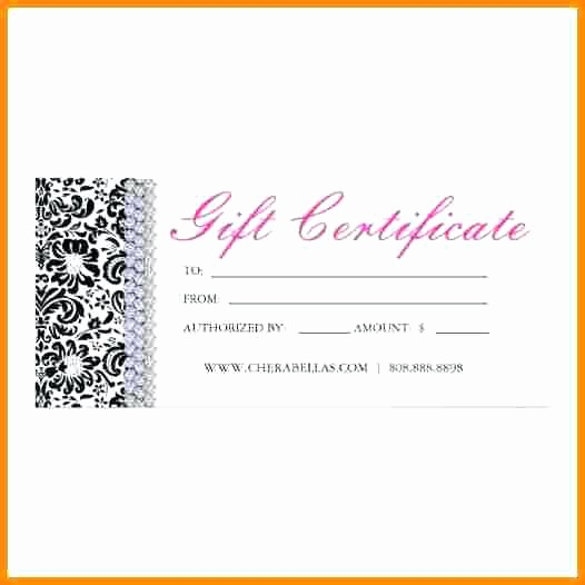 Hair Salon Gift Certificate Templates Beautiful Beauty T Certificate Template Free – Tangledbeard