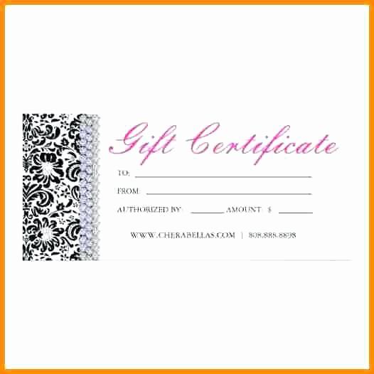 Hair Salon Gift Certificate Templates Beautiful Beauty T Certificate Template Free – Tangledbeard