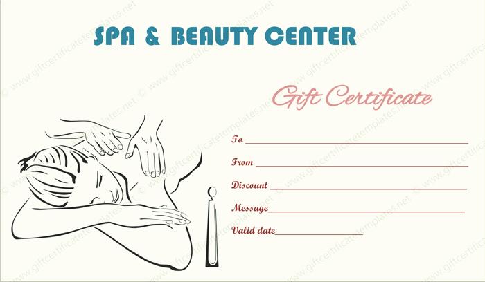 Hair Salon Gift Certificate Templates Beautiful Gift Certificate Templates