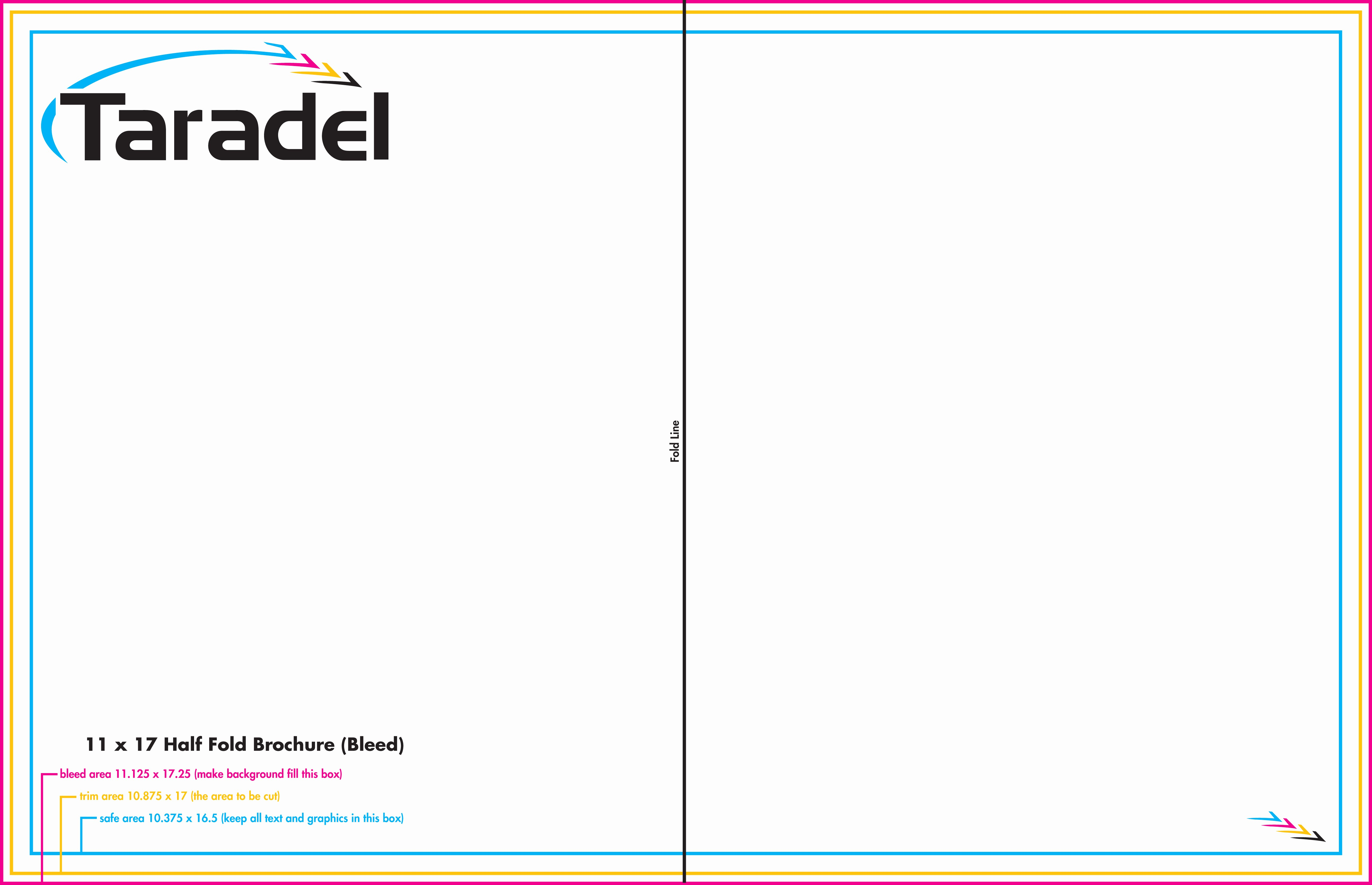 Half-fold Brochure Template Beautiful 7 Best Of 11x17 Brochure Template 11x17 Half Fold