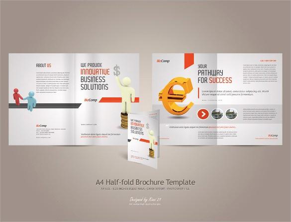 Half-fold Brochure Template Best Of 26 Half Fold Brochures