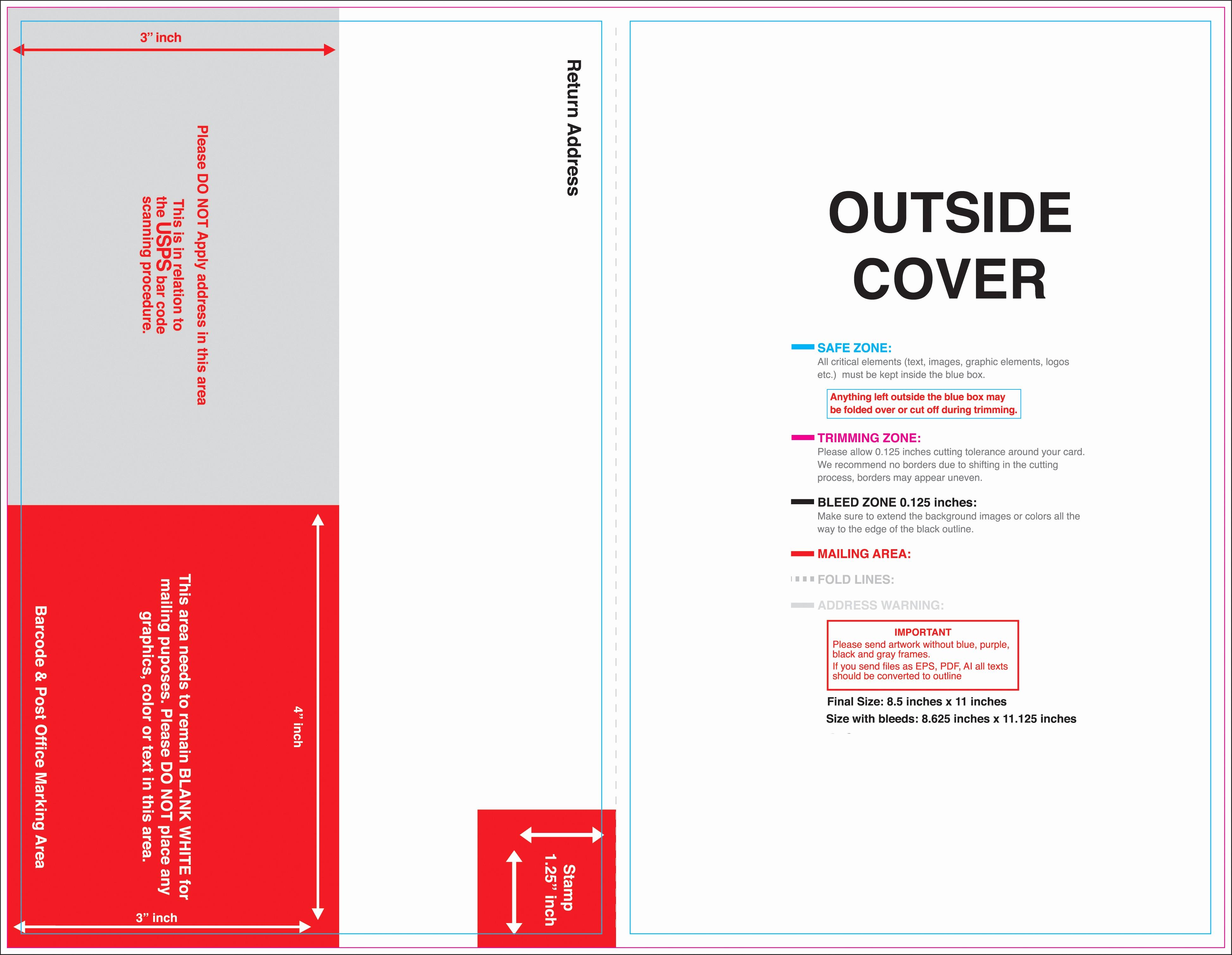 Half-fold Brochure Template Elegant 10 Best Of Two Fold Brochure Template Half Fold