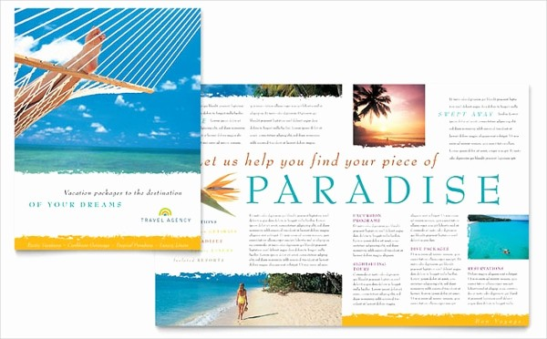 Half-fold Brochure Template Elegant Travel Brochures – 18 Psd Ai Vector Eps format Download