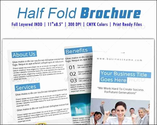 Half-fold Brochure Template Inspirational 25 Best Premium and Free Psd Brochure Templates 2014