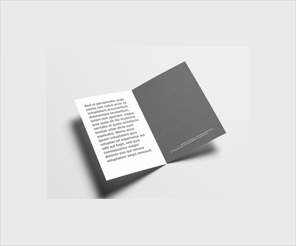Half-fold Brochure Template Inspirational 26 Half Fold Brochures