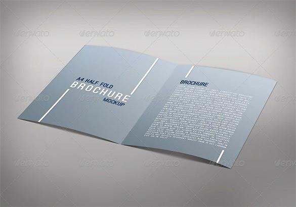 Half-fold Brochure Template Inspirational 36 Half Fold Brochure Templates