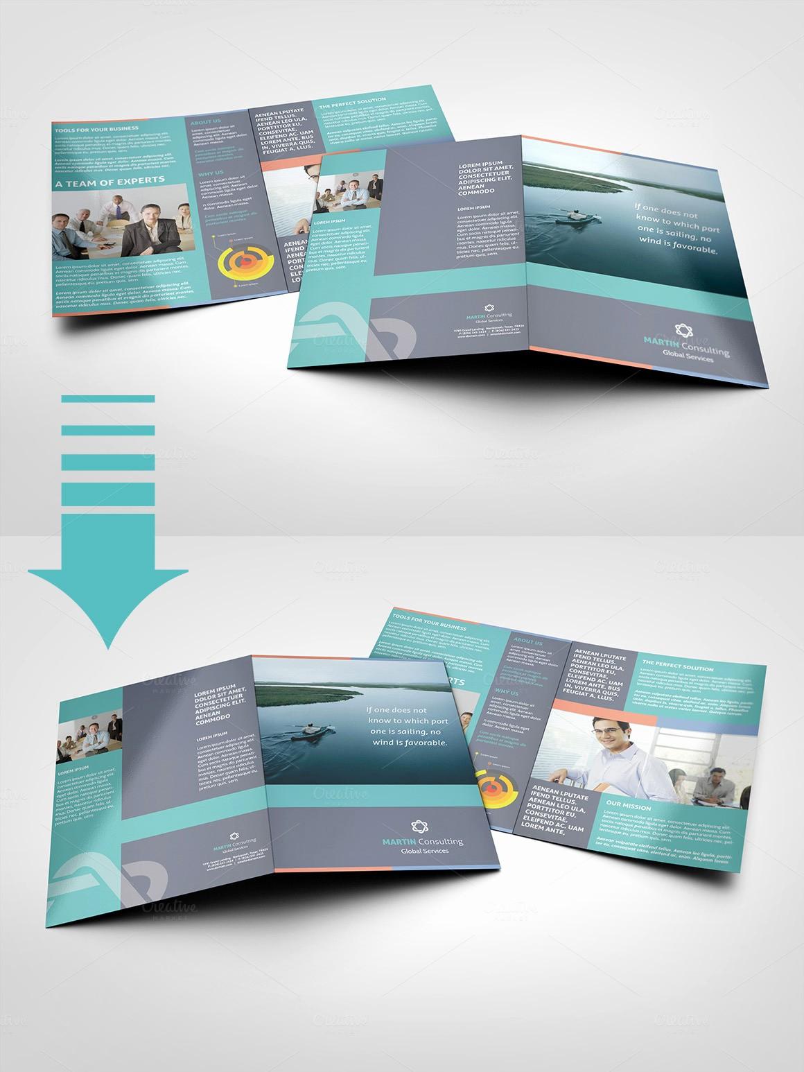 Half-fold Brochure Template Inspirational A5 Half Fold Brochure 4 Pages Brochure Templates On